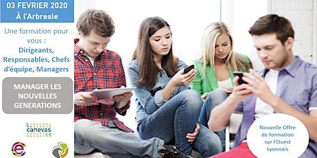Formation Manager les nouvelles générations billets