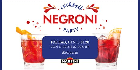 Negroni Cocktail Party  Tickets