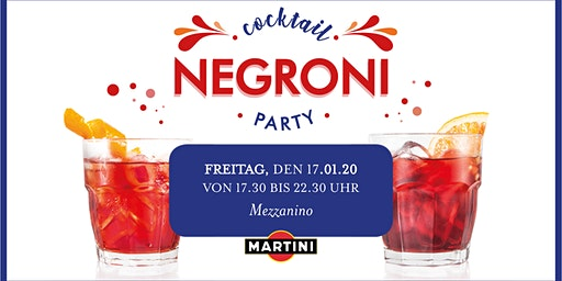 Negroni Cocktail Party