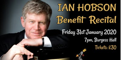 Ian Hobson Benefit Recital for KHVIII School