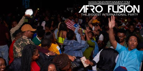 AFROFUSION SATURDAYS - AFROBEATS, HIPHOP, REGGAE AND MORE tickets