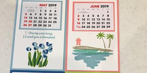Monthly Class - 2020 Desk Calendar Set