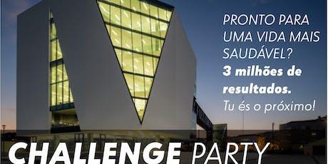 CHALLENGE PARTY - Fábrica das Palavras - Vila Franca de Xira bilhetes