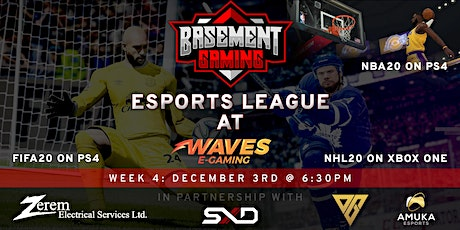 Basement Gaming Esports League - NHL & FIFA tickets