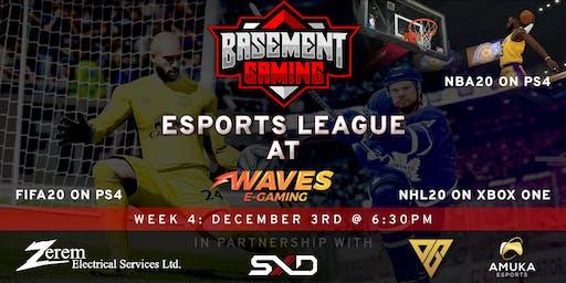 Basement Gaming Esports League - NHL & FIFA