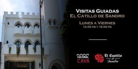 VISITA GUIADA AL CASTILLO DE SANDRO entradas