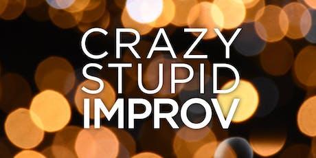 Crazy, Stupid, Improv: The Improvised RomCom tickets