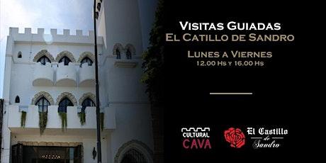 VISITA GUIADA AL CASTILLO DE SANDRO (16hs) entradas