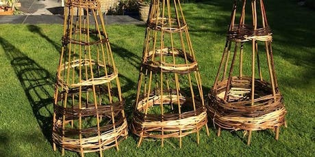 Make Your Own Garden Obelisks Sculpture and Plant-Climbers tickets