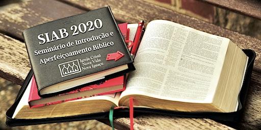 Seminário de Introdução e Aperfeiçoamento Bíblico – SIAB