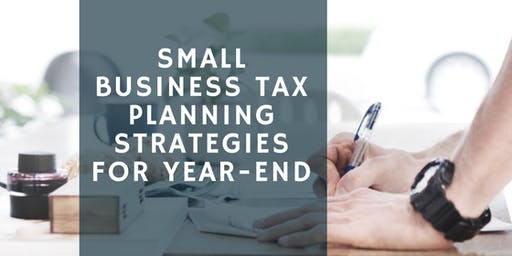 Fit Money CPA Year End Tax Planning December 9th 2019