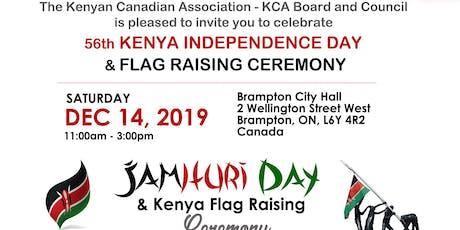 Kenya Flag Raising Ceremony & 56th Kenya Independence Day Celebration tickets