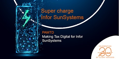 Supercharge Infor SunSystems: PAMTD Making Tax Digital tickets