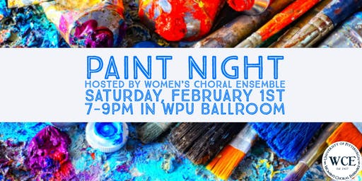 Paint Night hosted by Women's Choral Ensemble