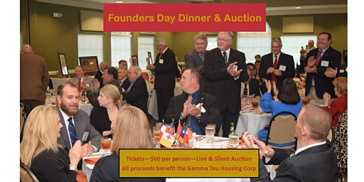 Gamma Tau 60th Anniversary Founders Dinner & Auction