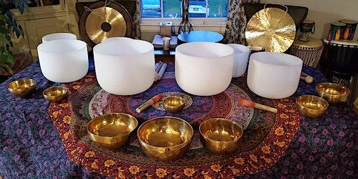January Sound Bath Meditation at The Yoga Lily