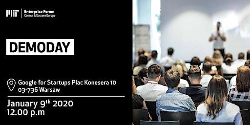 MIT Enterprise Forum CEE DemoDay! Confirm your attendance!