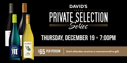 David's Private Selection Dinner Series