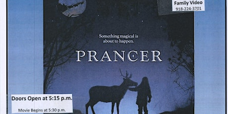 Free Movie Night @ The Library - Prancer tickets