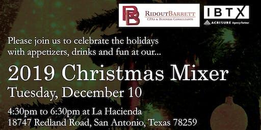 2019 IBTX-Ridout Barrett Christmas Mixer