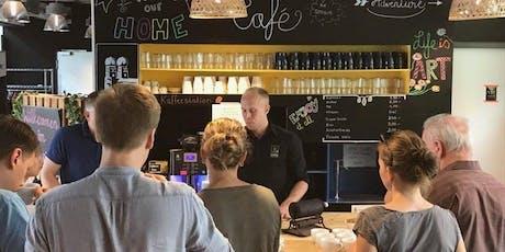 Kaffeeseminar inkl. Verkostung und LIVE Röstung tickets