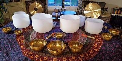 April Sound Bath Meditation at The Yoga Lily