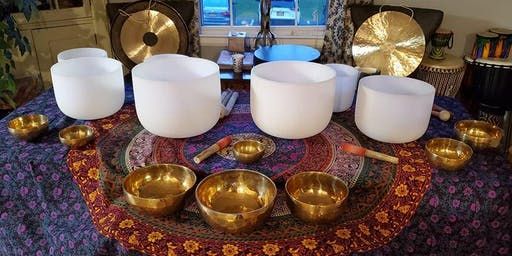 June Sound Bath Meditation at The Yoga Lily