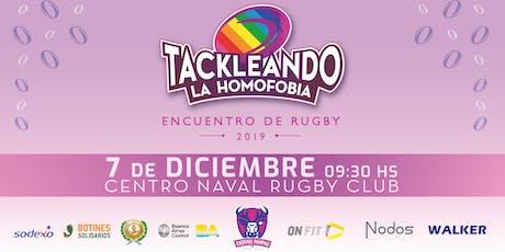 Tackleando La Homofobia 2019 entradas