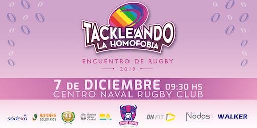Tackleando La Homofobia 2019