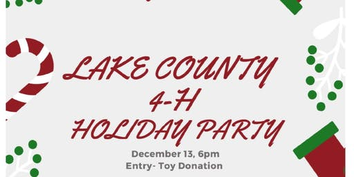 Lake County 4-H Holiday Party