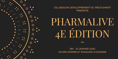 PharmaLive 2020 (4e edition) - Cocktail Réseautage billets