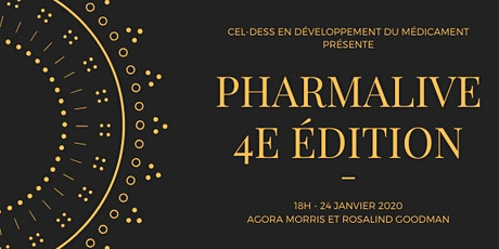PharmaLive 2020 (4e edition) - Cocktail Réseautage **SOLD OUT** billets