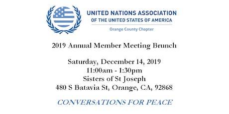 2019 Annual Membership Meeting Brunch entradas