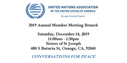 2019 Annual Membership Meeting Brunch