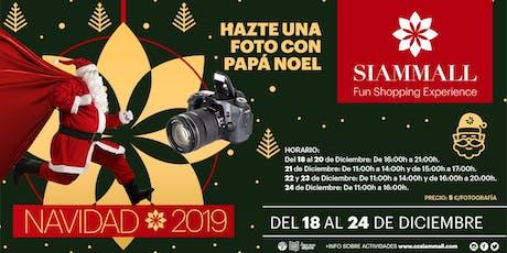 HAZTE UNA FOTO CON PAPÁ NOEL tickets