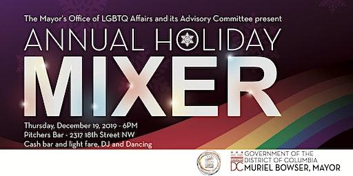 Mayor's Office of LGBTQ Affairs Holiday Mixer