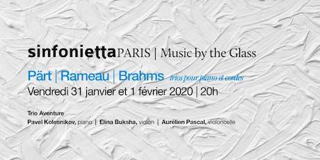 «Music by the Glass» Cœur de l'hiver! Vendredi, 31 janvier 2020 | 20H tickets