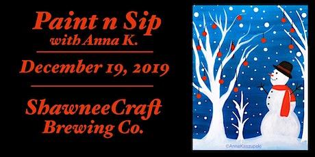 Paint n Sip- Snowman @ ShawneeCraft tickets