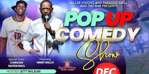 The Pop Up Comedy Show