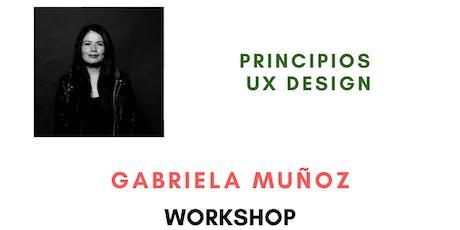 Principios UX Design - PosaDev 2019 entradas