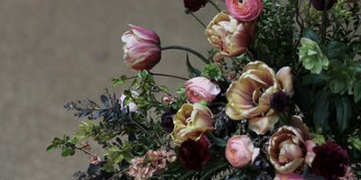 Spring Flower Arrangement Workshop (foam free)
