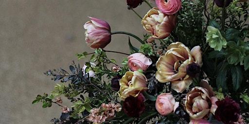 Spring Flower Arrangement Workshop (foam free)