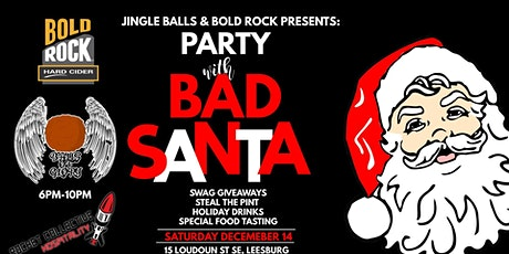 Bad Santa Party with Bold Rock tickets