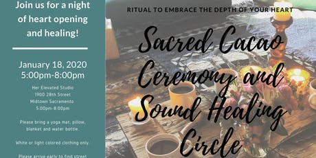 Sacred Cacao Ceremony & Sound Healing Circle tickets