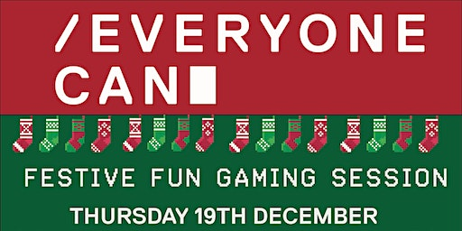 Everyone Can Festive Fun Gaming Session