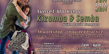 Sunset Kizomba & Semba Workshops with David Campos tickets