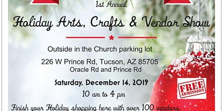 Amphitheater Bible Church Holiday Arts, Crafts & Vendor Show tickets