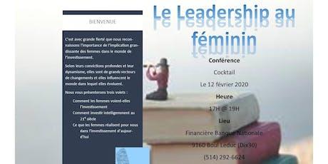 Leadership Au Féminin billets