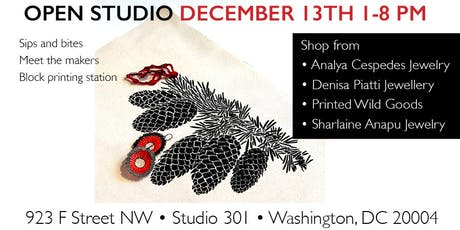 DC Makers Holiday Open Studio: Sip & Shop tickets