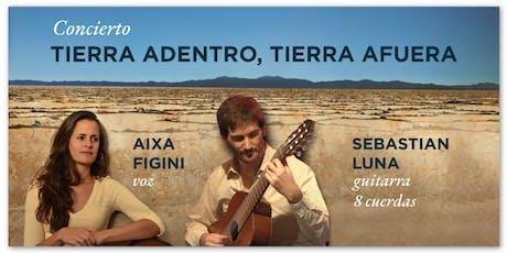 Concierto Aixa Figini y Sebastian Luna  entradas